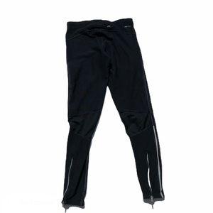 Nike Dri Fit black mixed finish leggings